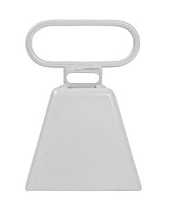 COWBELL-WHITE