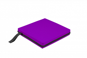 STADIUM CUSHION-PURPLE