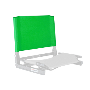 THE GAMECHANGER™ STADIUM CHAIR - REPLACEMENT BACK-KELLY GREEN