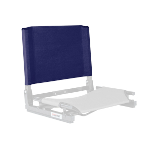 THE GAMECHANGER™ STADIUM CHAIR - REPLACEMENT BACK-NAVY