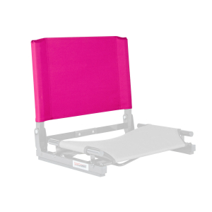 THE GAMECHANGER™ STADIUM CHAIR - REPLACEMENT BACK-PINK