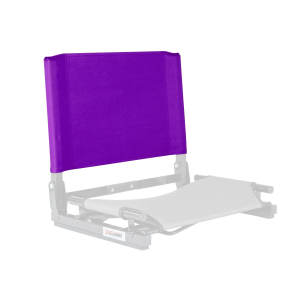 THE GAMECHANGER DELUXE™ STADIUM CHAIR - REPLACEMENT BACK-PURPLE