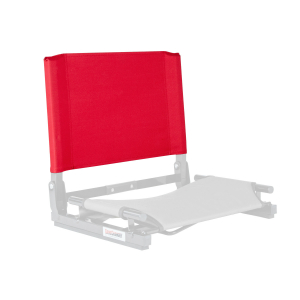 THE GAMECHANGER DELUXE™ STADIUM CHAIR - REPLACEMENT BACK-SCARLET