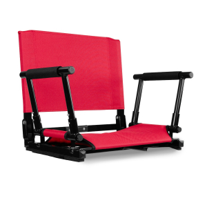 STADIUM CHAIR - FAN BUNDLE-STANDARD-RED