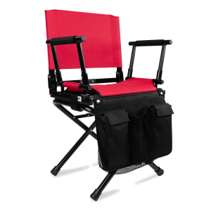 STADIUM CHAIR - TEAM MANAGER BUNDLE-SCARLET