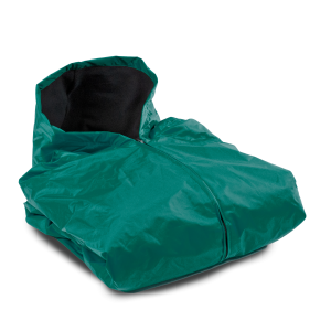 FLEECE LINED SIDELINE CAPE-FOREST