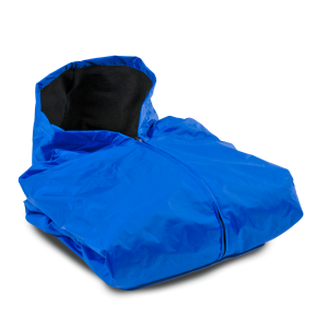 FLEECE LINED SIDELINE CAPE-ROYAL