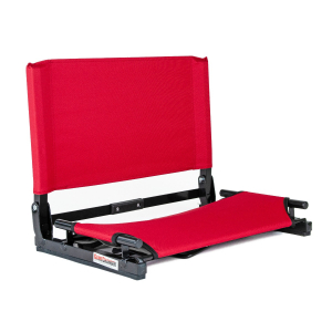 THE GAMECHANGER™ DELUXE STADIUM CHAIR-RED